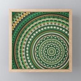 Mandala 76 Framed Mini Art Print