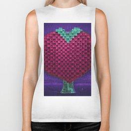 Tree Heart for Lovers Biker Tank