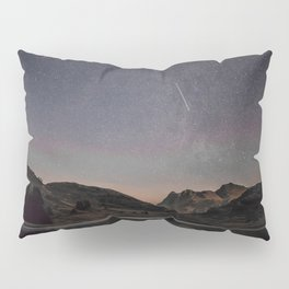 Mountain Lake Under the Stars Pillow Sham