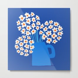 Abstraction_FLORAL_Blossom_001 Metal Print