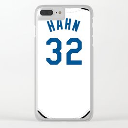 Jesse Hahn Jersey Clear iPhone Case