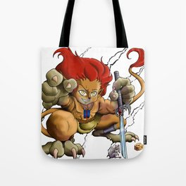 African Lion-O Tote Bag