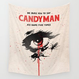 Candyman cover film Wall Tapestry
