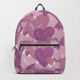 Infinite hearts pink Backpack