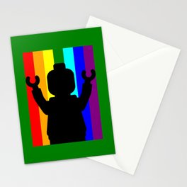 MINIFIG PRIDE by Chillee Wilson Stationery Cards
