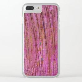 Spring dream Clear iPhone Case