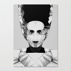 Polygon Heroes - The Bride Canvas Print