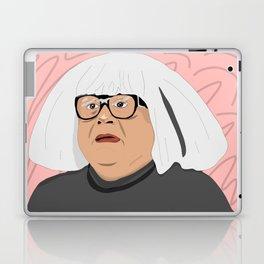 frank as an art collector Laptop & iPad Skin