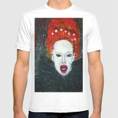 LADY AUDREY VAN DER  HOLLAND Mens Fitted Tee White SMALL