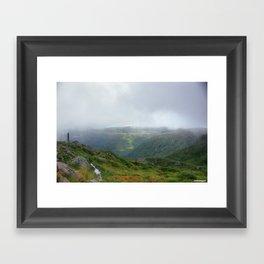 Norway hdr Framed Art Print