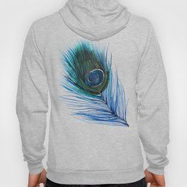 Peacock Feather I Hoody