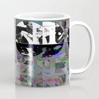 tiki Mugs featuring Freaky Tiki by Lynsey Ledray