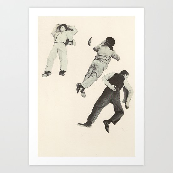 Public Enemies Art Print