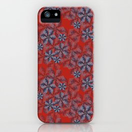 Hearst Building Petals--Floral Pattern iPhone Case