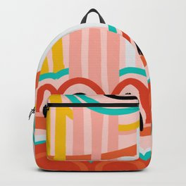 water fountain. Backpack