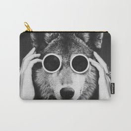 Wolf Glam Carry-All Pouch