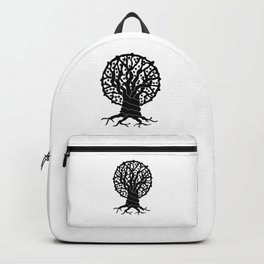 tree with circular branches Backpack