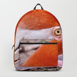 Goofy Flamingo  Backpack