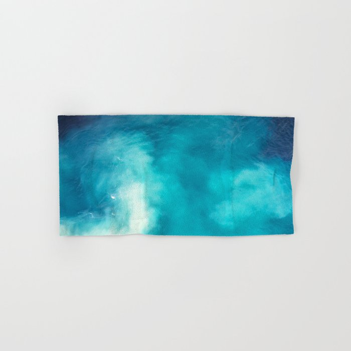 Caribbean Blues Hand & Bath Towel