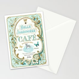 Belle Jardiniere Stationery Cards