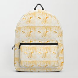 sandy, close up, drawing orange Backpack
