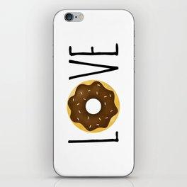 I Love Donuts iPhone Skin