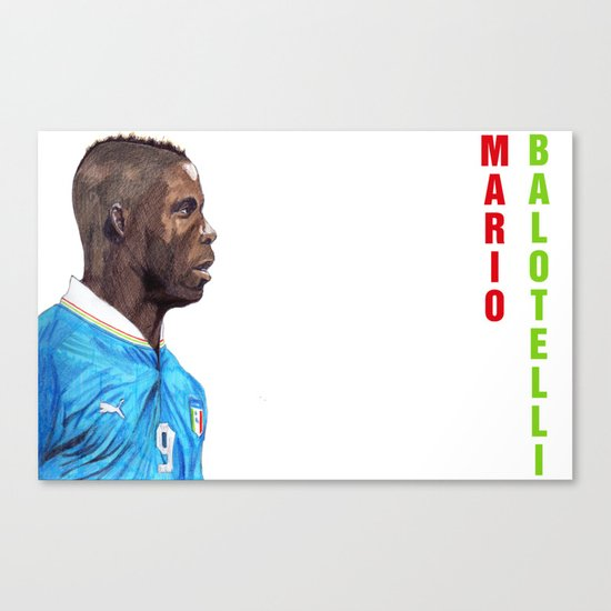 Balotelli Canvas Print