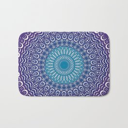 Colourful Mandala #1 Bath Mat
