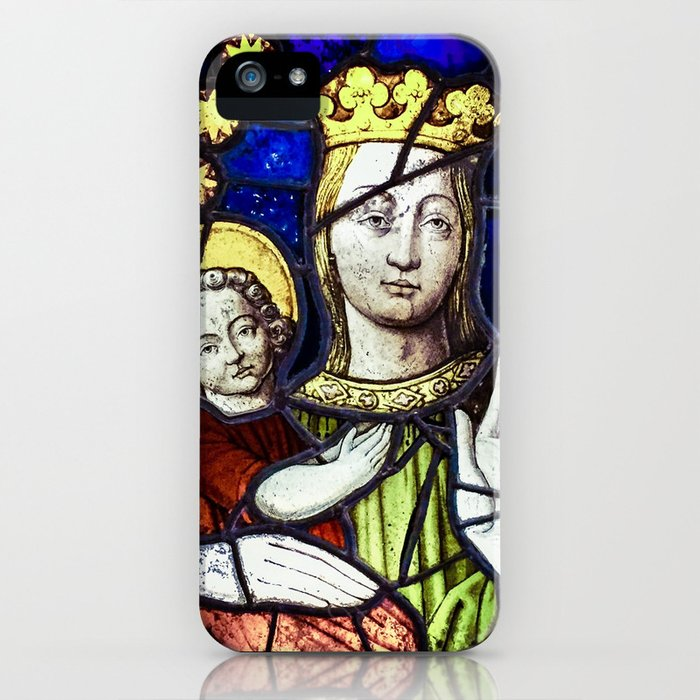 Madona and Child iPhone Case