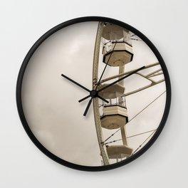 The Gondola Ride Wall Clock