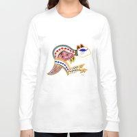 kangaroo Long Sleeve T-shirts featuring Kangaroo by Armyhu