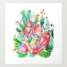 body nature Art Print