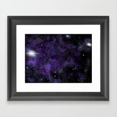 Jam Nebula Framed Art Print