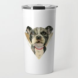 Puppy Eyes 4 Travel Mug