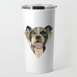 Puppy Eyes 4 Travel Mug
