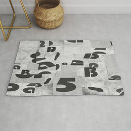 Abstract pattern 51 Rug