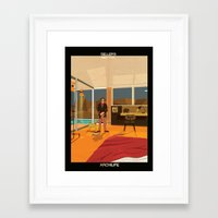babina Framed Art Prints featuring Sellers Neutra by federico babina