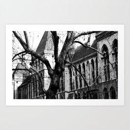 Into the trees 02 Art Print