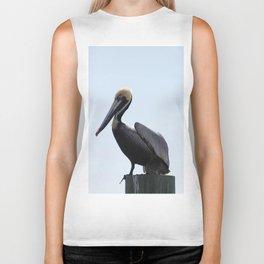 Pelican Face. Biker Tank
