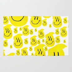 Smiley Glitch Rug