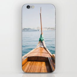 Boat from Valletta iPhone Skin