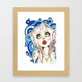 Hippy elf bis Framed Art Print