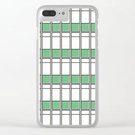 Edificio La Estancia -Detail- Clear iPhone Case