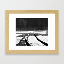 Right Justify Framed Art Print