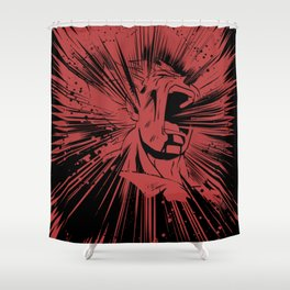Hero's end Shower Curtain