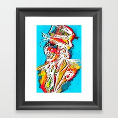 At Center Stage Framed Art Print
