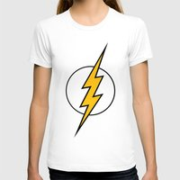 the flash T-shirts featuring Flash by Bastien13