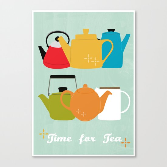 Time for Tea! Canvas Print
