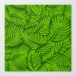 Great Palm Leaves Canvas Print
