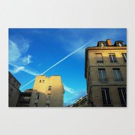 PAINTING PARIS Canvas Print